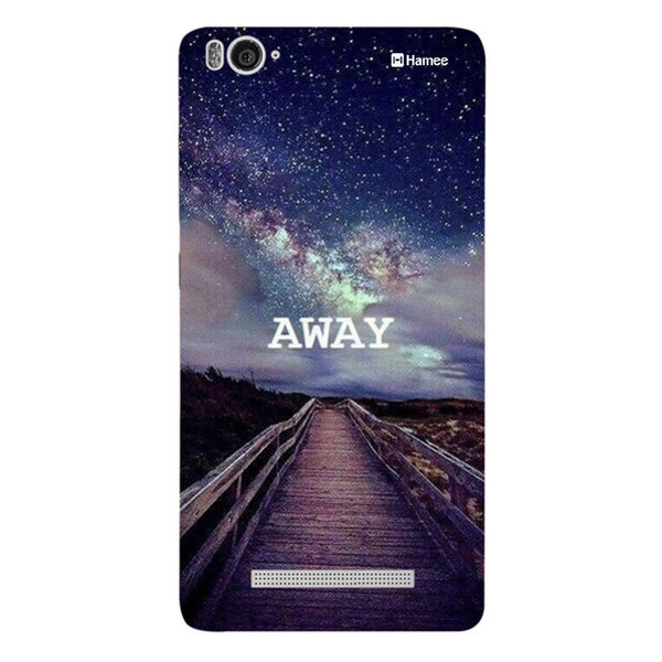 Hamee Away Designer Cover For Xiaomi Redmi 3-Hamee India