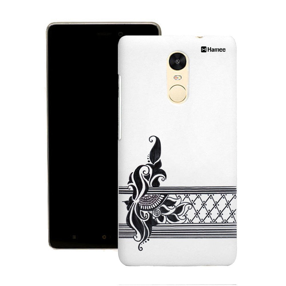 Hamee Ethnic Stripes Flowers Customized Cover for Motorola Moto G4 Plus-Hamee India