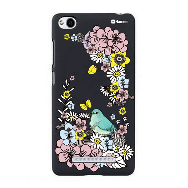 Hamee Bird In Garden Designer Cover For Xiaomi Redmi 3-Hamee India