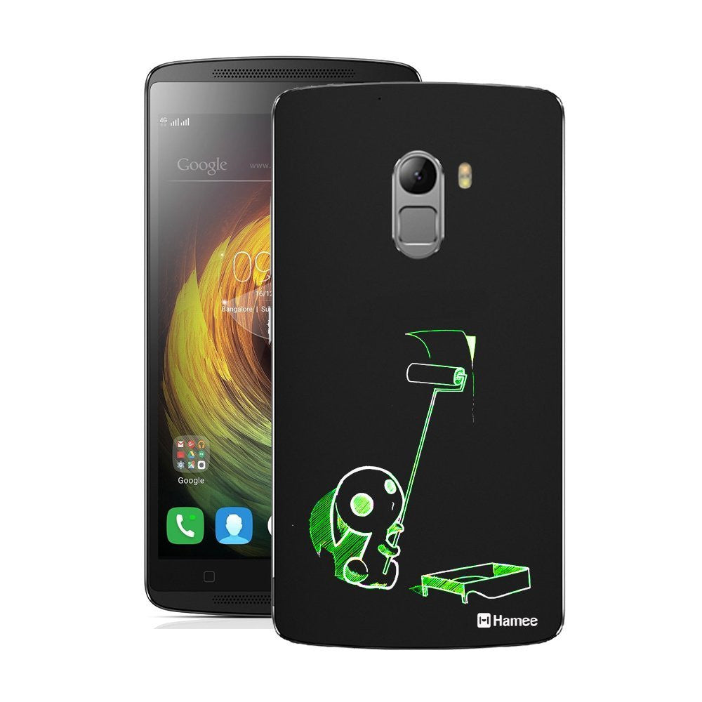 Hamee Cute Green Monster Designer Cover For Lenovo K4 Note - Hamee India