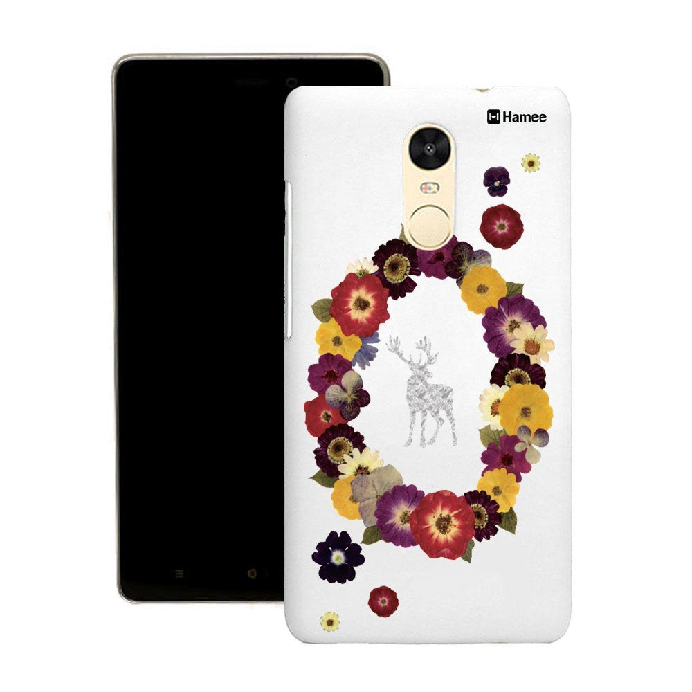 Hamee Flower Garland Customized Cover for Motorola Moto G4 Plus-Hamee India
