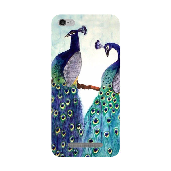 Peacock Pair Redmi 5A Back Cover-Hamee India