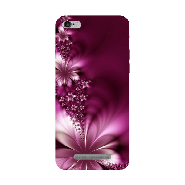 Purple Flower Redmi 5A Back Cover-Hamee India