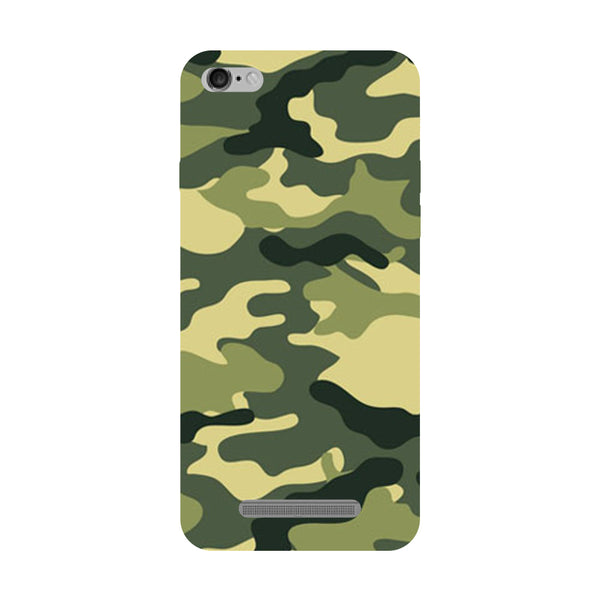 Camouflage Redmi 5A Back Cover-Hamee India