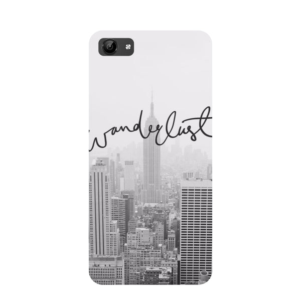 Wanderlust- Printed Hard Back Case Cover for Vivo Y71