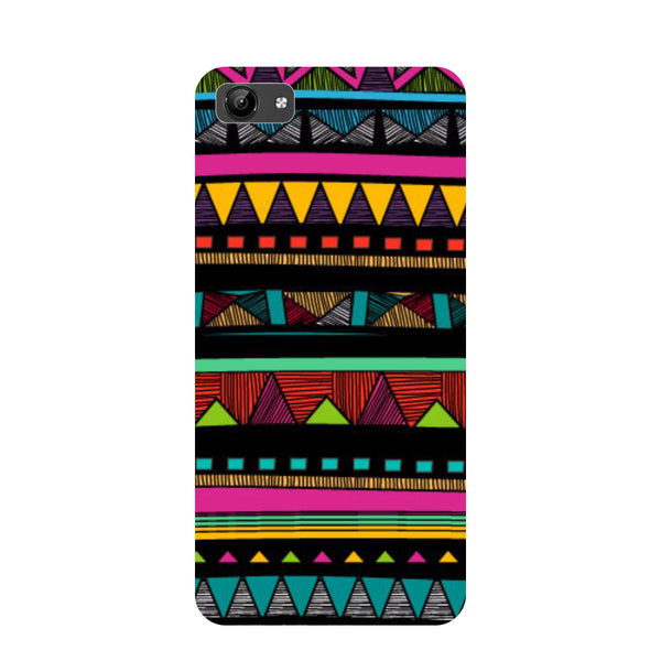 Tribal- Printed Hard Back Case Cover for Vivo Y71-Hamee India