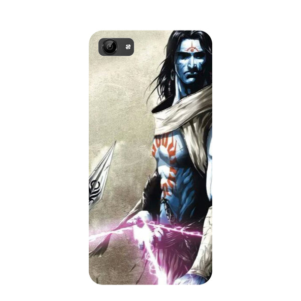 Shiva Side- Printed Hard Back Case Cover for Vivo Y71-Hamee India