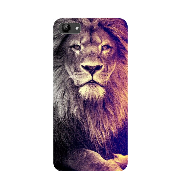 Lion- Printed Hard Back Case Cover for Vivo Y71