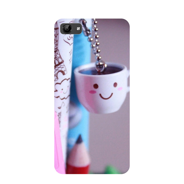 Cup- Printed Hard Back Case Cover for Vivo Y71-Hamee India