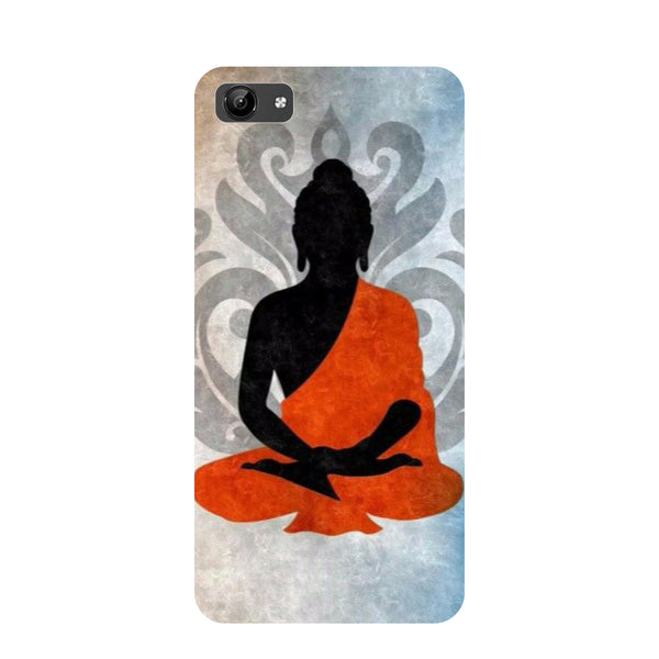Yoga- Printed Hard Back Case Cover for Vivo Y71-Hamee India