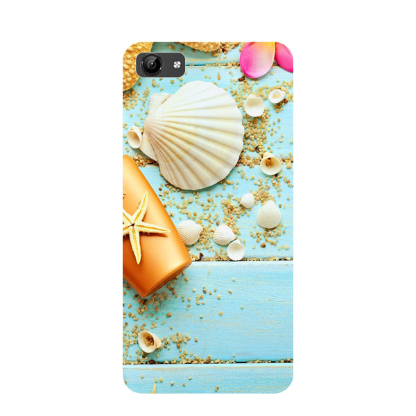 Shells- Printed Hard Back Case Cover for Vivo Y71-Hamee India