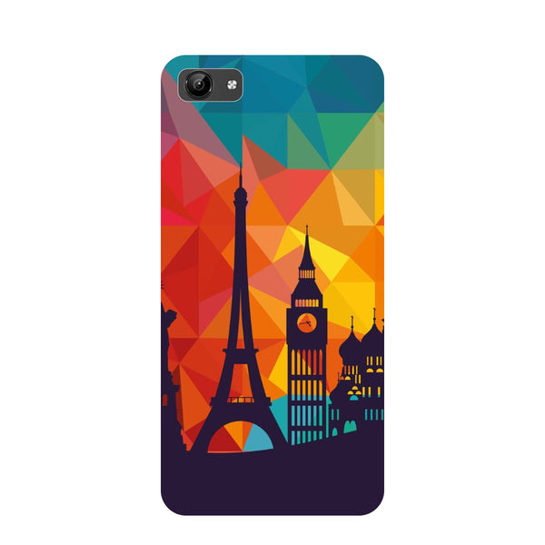 seven wonders- Printed Hard Back Case Cover for Vivo Y71