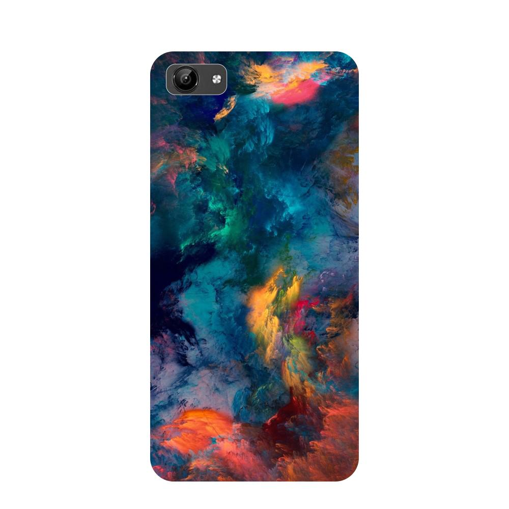 Abstract fumes- Printed Hard Back Case Cover for Vivo Y71