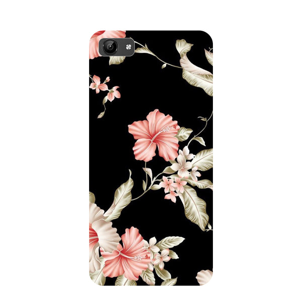 Flowers- Printed Hard Back Case Cover for Vivo Y71