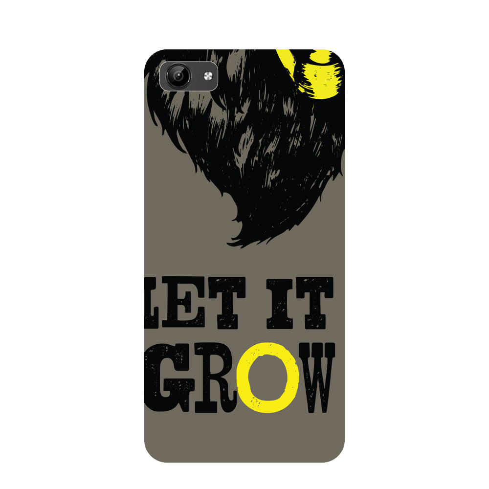 Let it grow- Printed Hard Back Case Cover for Vivo Y71-Hamee India