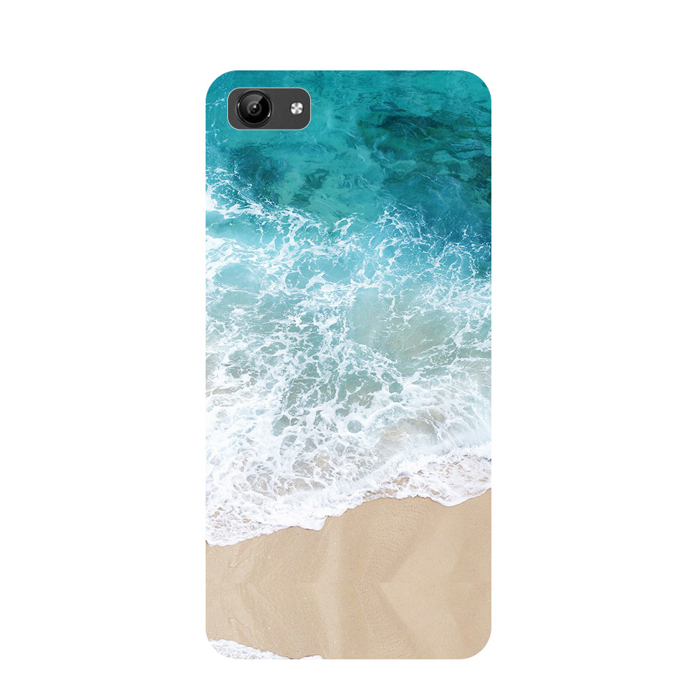 Sea- Printed Hard Back Case Cover for Vivo Y71-Hamee India