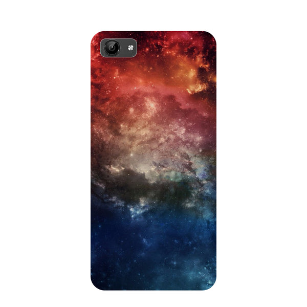 Space- Printed Hard Back Case Cover for Vivo Y71-Hamee India