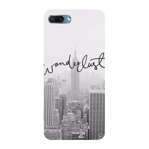 Wanderlust- Printed Hard Back Case Cover for Honor 10