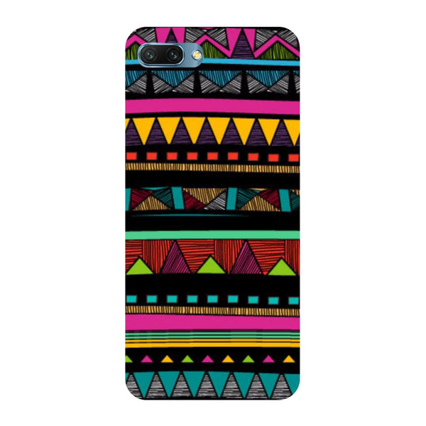 Tribal- Printed Hard Back Case Cover for Honor 10
