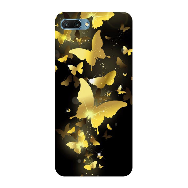 Golden Butterflies Oppo A3s Back Cover-Hamee India