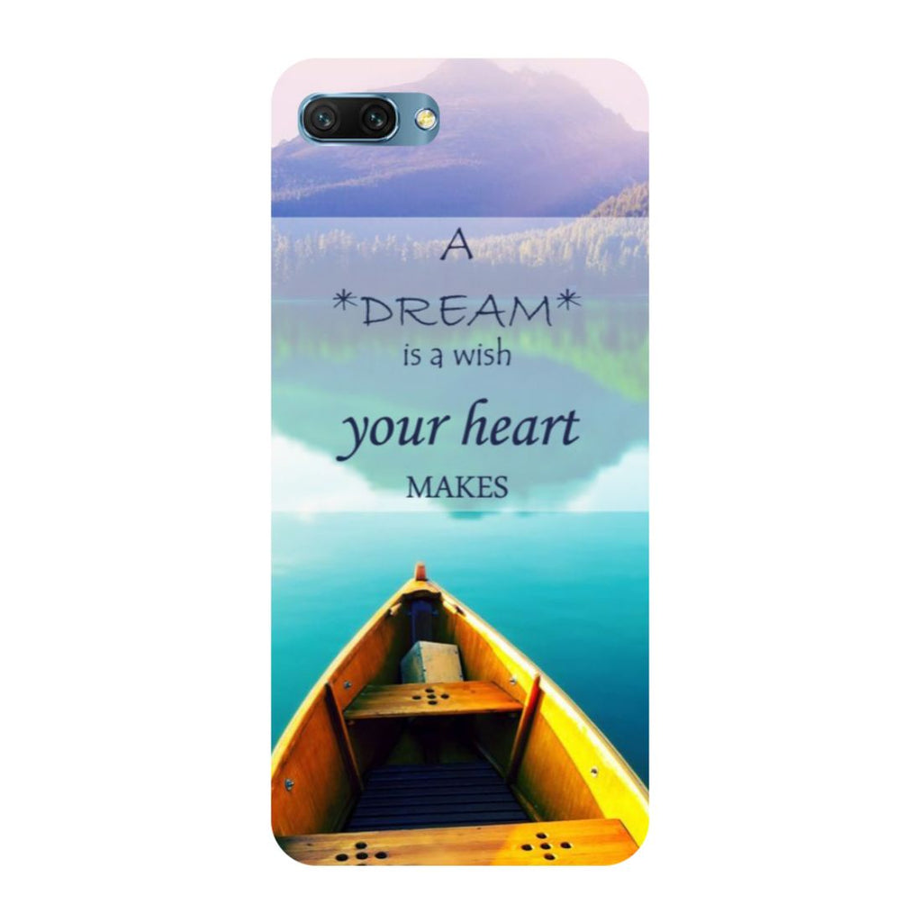 Boat- Printed Hard Back Case Cover for Honor 10-Hamee India