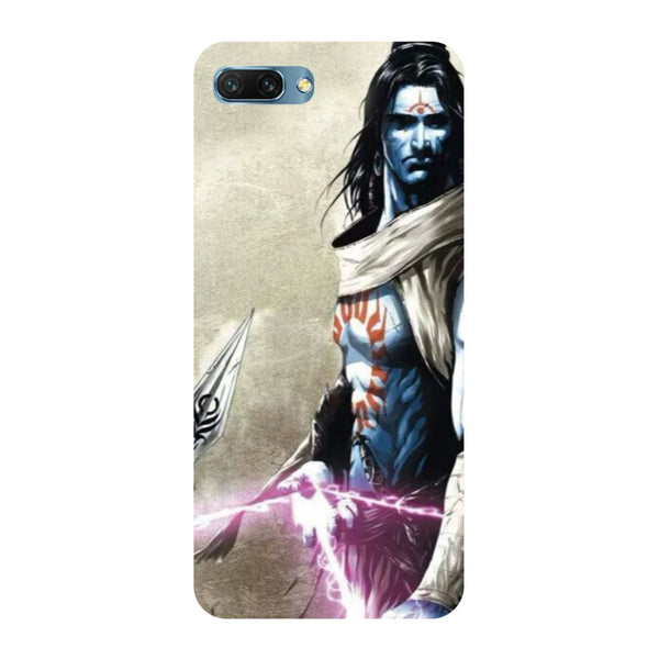 Shiva Side- Printed Hard Back Case Cover for Honor 10