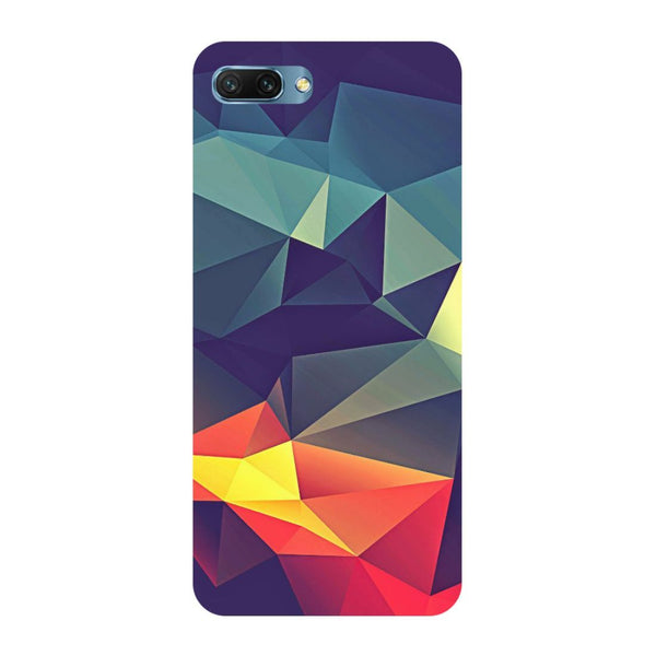 Abstract Oppo A3s Back Cover