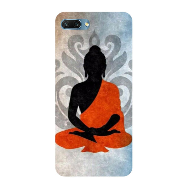 Yoga- Printed Hard Back Case Cover for Honor 10