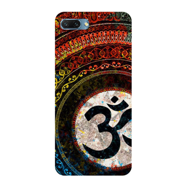 Om- Printed Hard Back Case Cover for Honor 10