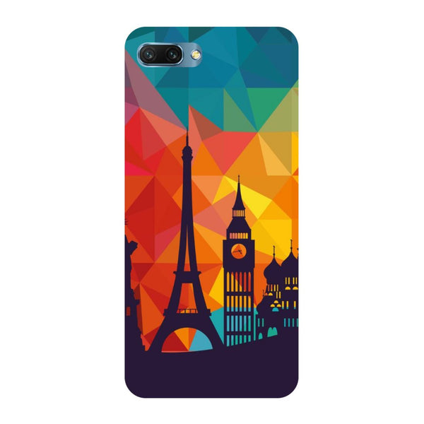 seven wonders- Printed Hard Back Case Cover for Honor 10