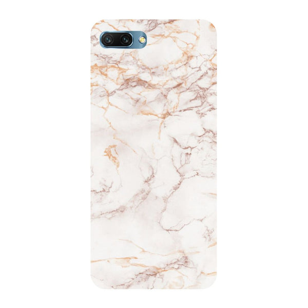 Marble- Printed Hard Back Case Cover for Honor 10