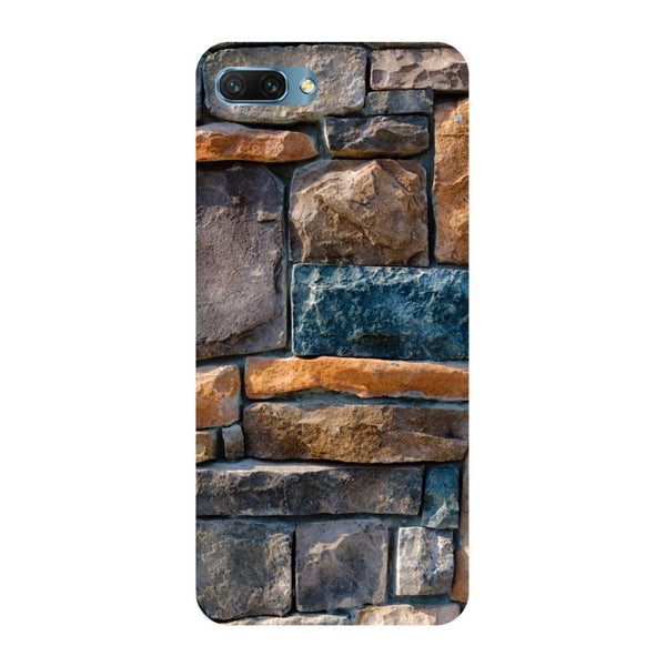 Stone Wall- Printed Hard Back Case Cover for Honor 10