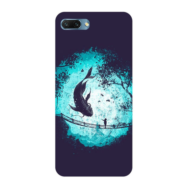 Fish Oppo A3s Back Cover
