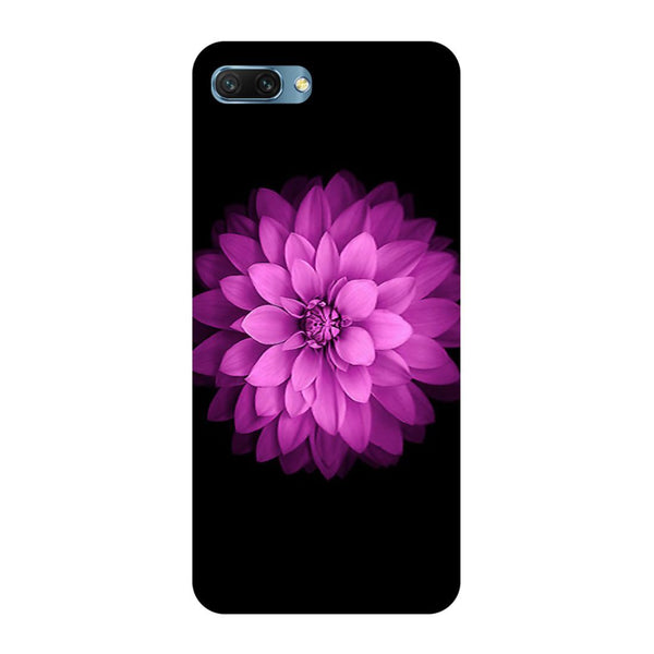 Flower purple Oppo A3s Back Cover-Hamee India