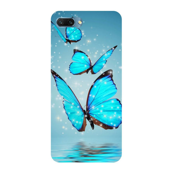 Blue Butterflies Oppo A3s Back Cover