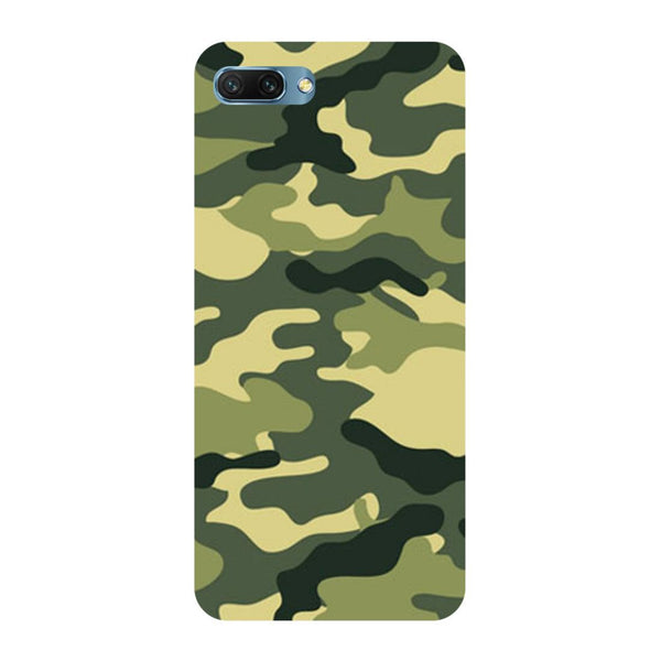 Army Camouflage Oppo A3s Back Cover