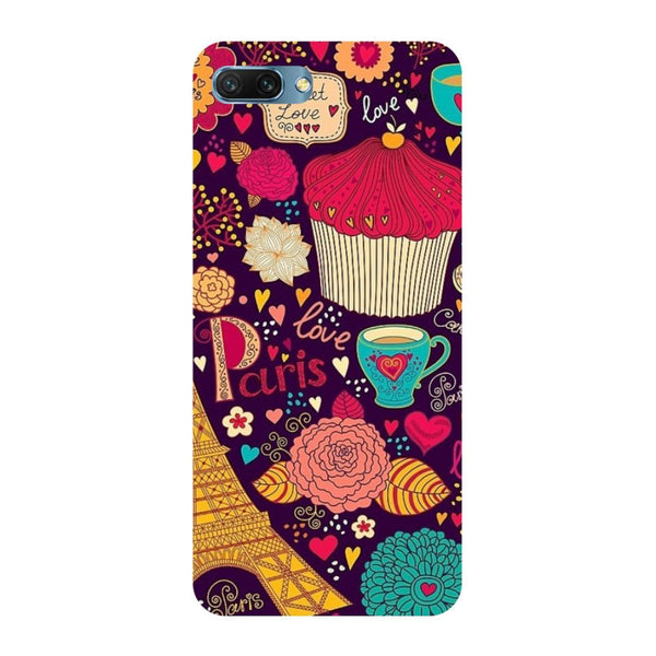 Cupcake Oppo A3s Back Cover