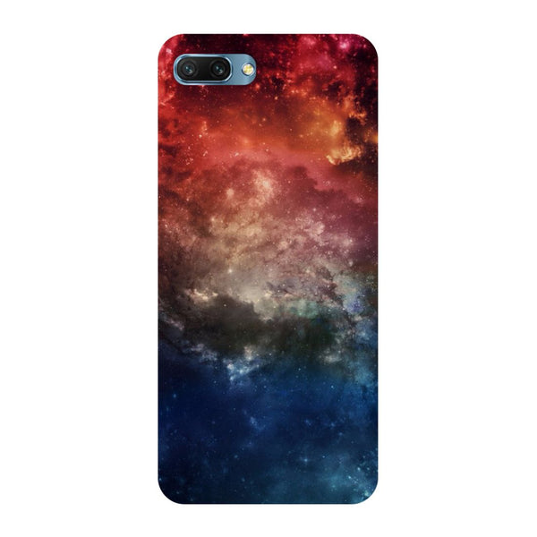 Space- Printed Hard Back Case Cover for Honor 10