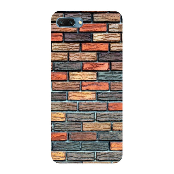 Brick wall Oppo A3s Back Cover