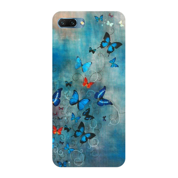 Butterflies Oppo A3s Back Cover
