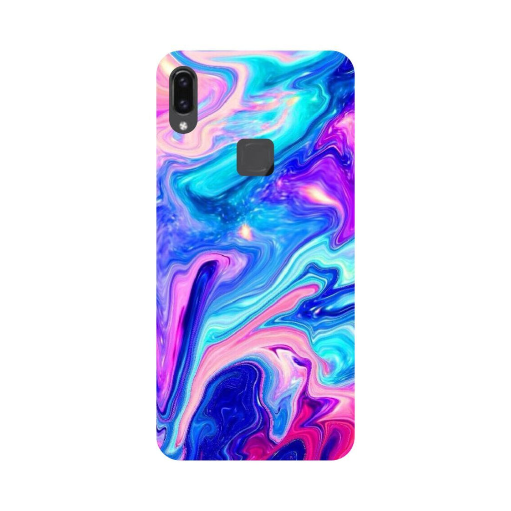 Abstract paint- Printed Hard Back Case Cover for Vivo V9