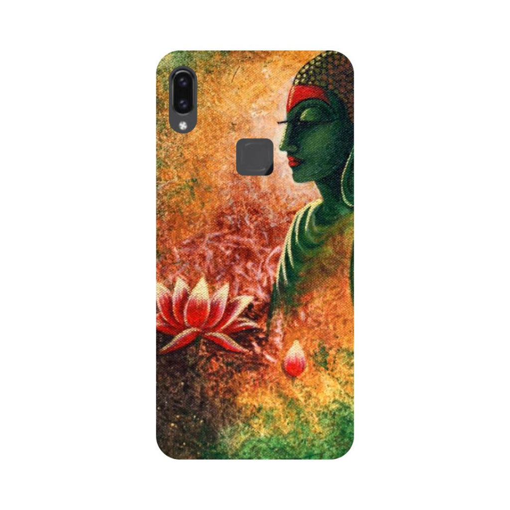 Buddha Side Pose Vivo V9 Back Cover-Hamee India
