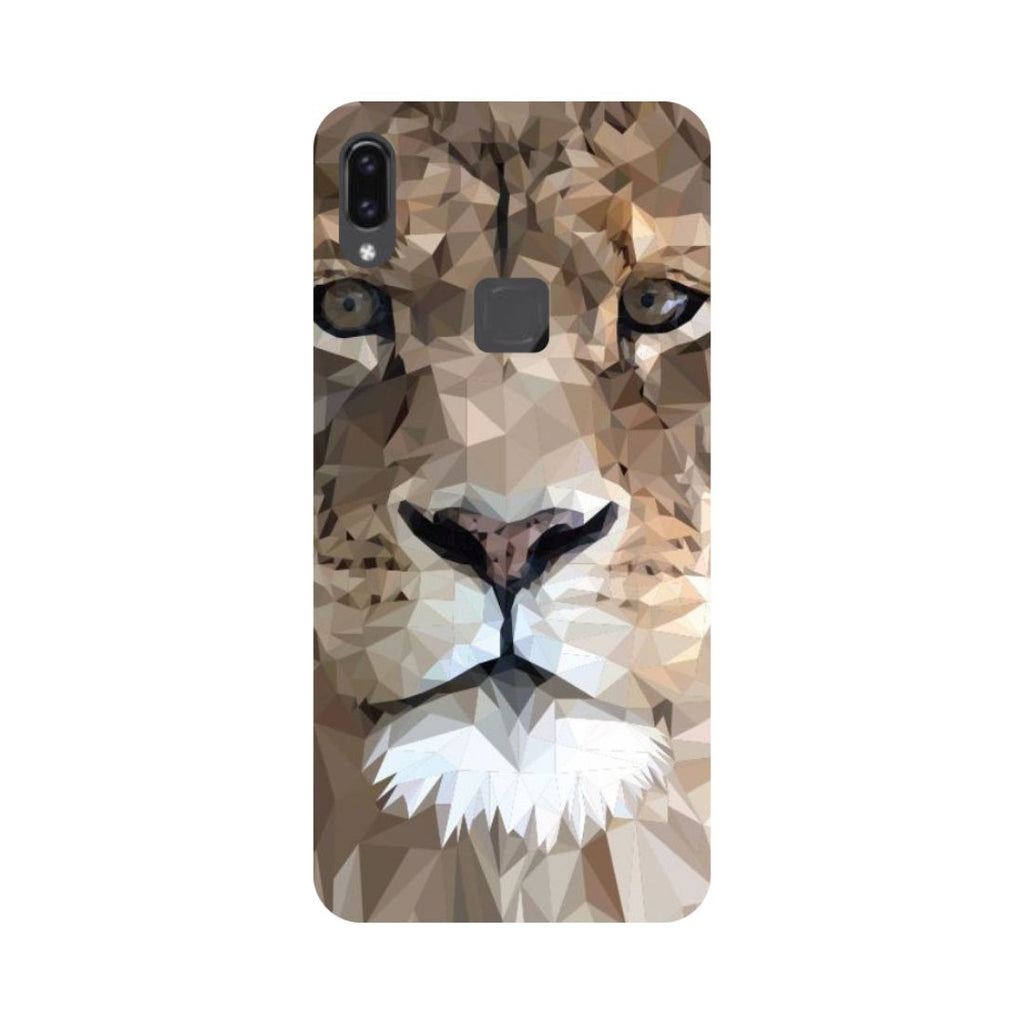 Lion Abstract Vivo V9 Back Cover-Hamee India