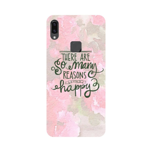 Be Happy Vivo V9 Back Cover-Hamee India