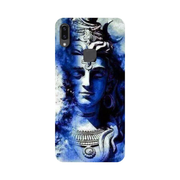 Blue Shiva Vivo V9 Back Cover-Hamee India