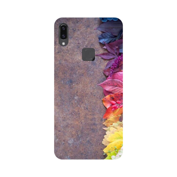 Side Flowers Vivo V9 Back Cover-Hamee India