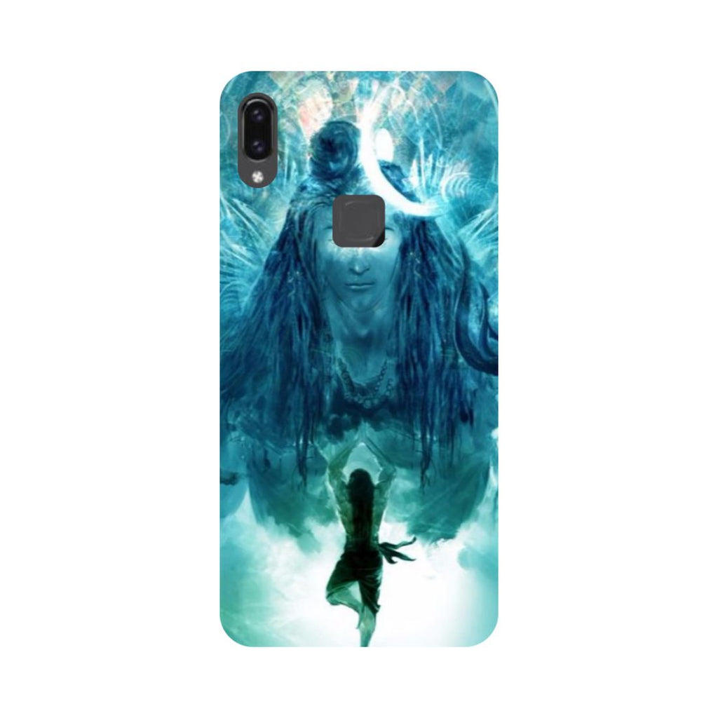 Standing Shiv Ji Vivo V9 Back Cover-Hamee India