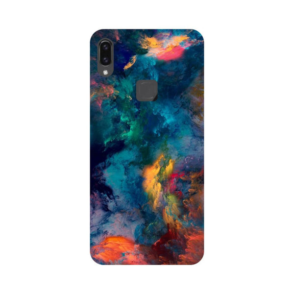 Abstract fumes- Printed Hard Back Case Cover for Vivo V9