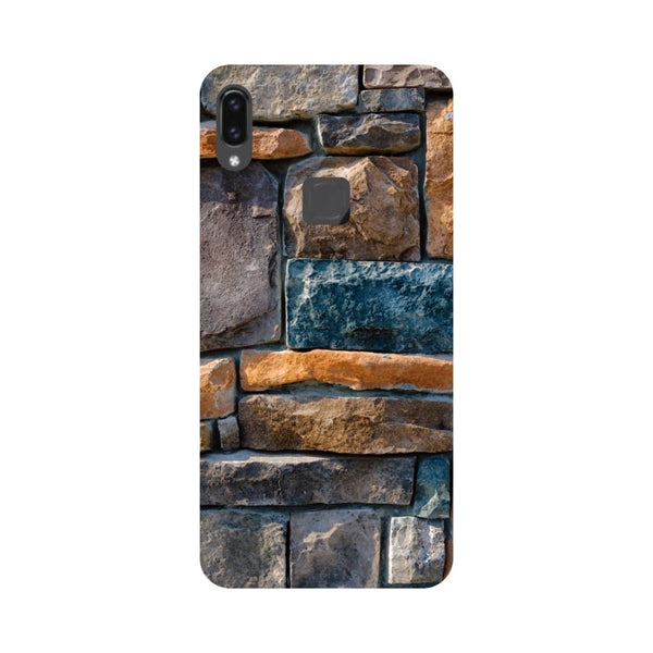 Stone Wall Vivo V9 Back Cover-Hamee India