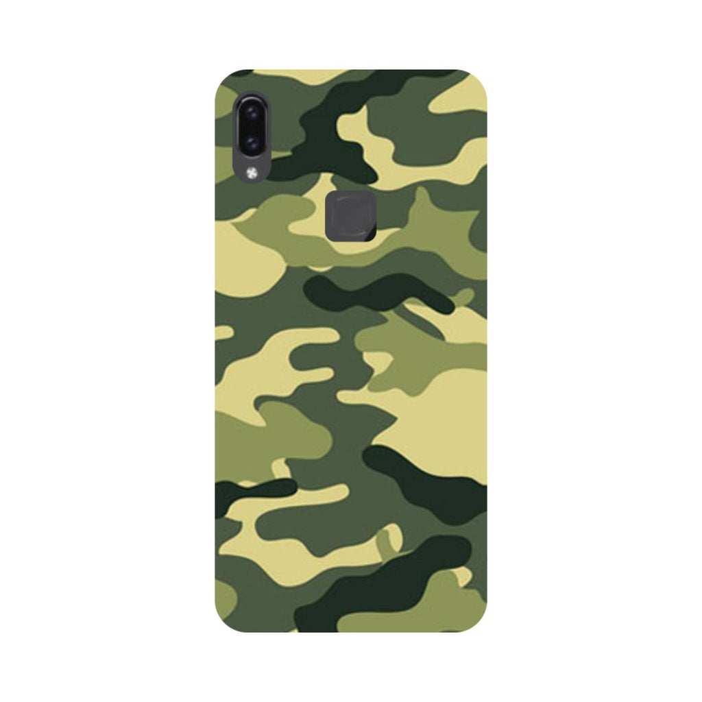 Army Camouflage Vivo V9 Back Cover-Hamee India